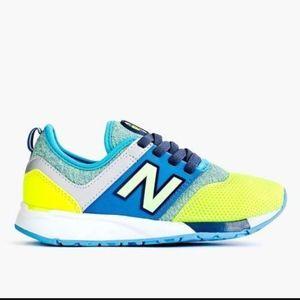 kids New Balance® 24/7 with no-tie lace sz 13